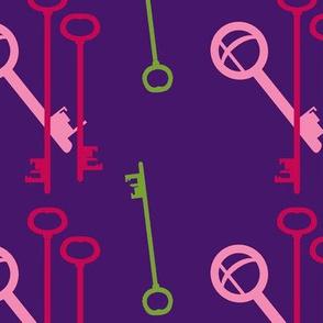 Keys - Keybound - Garden Colors