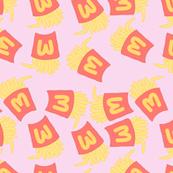 Fries Pastel Kawaii Pink