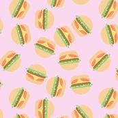 Burgers Pastel Kawaii Pink