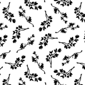 Simple Magic hand drawn graphic pattern