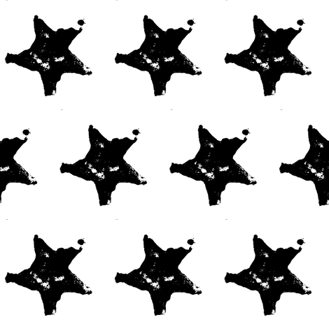 Star of Potato fabric by anniedeb on Spoonflower - custom fabric