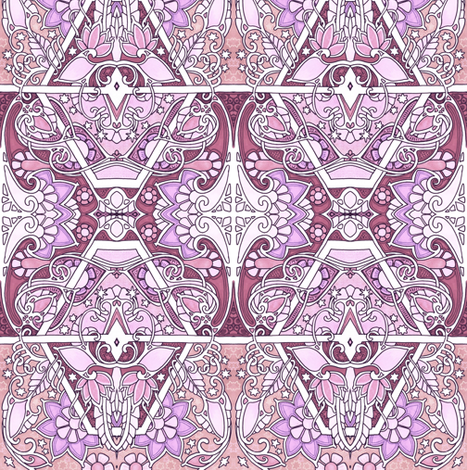 Femme de Luxe fabric by edsel2084 on Spoonflower - custom fabric
