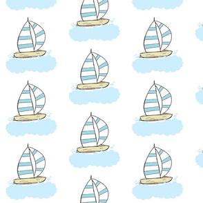 sailing -  Sky MEDIUM