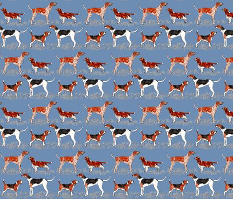 hunting_dogs_202 fabric by leroyj on Spoonflower - custom fabric