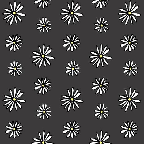 Daisies fabric by kelly_korver on Spoonflower - custom fabric