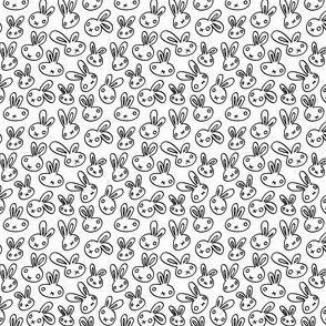 Scrappy Bunny - Outline