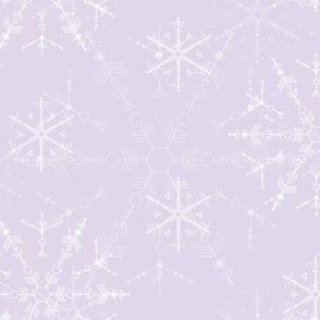Cosmic Snowflakes - Lavender