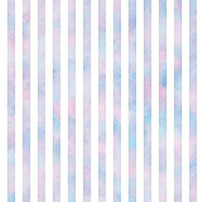 Watercolor Vertical Stripes Pattern