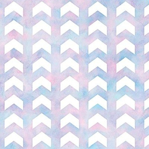 Watercolor Split Chevron Pattern 1