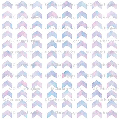 Watercolor Split Chevron Pattern 2
