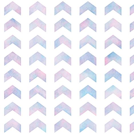 Watercolor Split Chevron Pattern 2 fabric by raccoongirl on Spoonflower - custom fabric