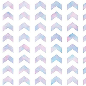 Watercolor Split Chevron Pattern 2