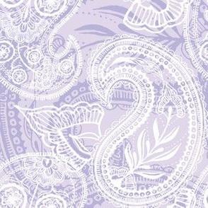 Lavender Paisley