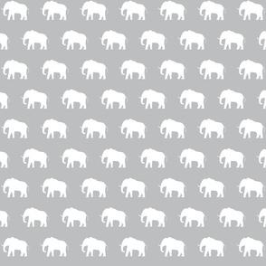 White Elephants on Grey