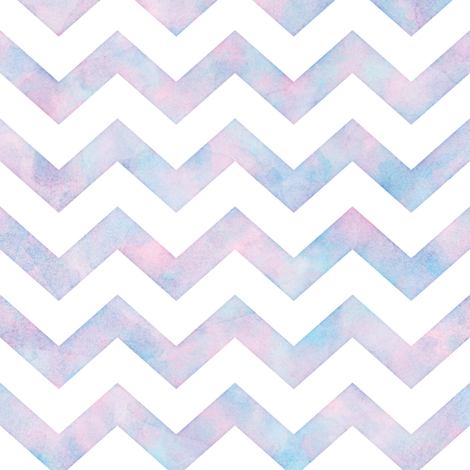 Watercolor Chevron Pattern 1 fabric by raccoongirl on Spoonflower - custom fabric
