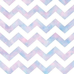 Watercolor Chevron Pattern 1