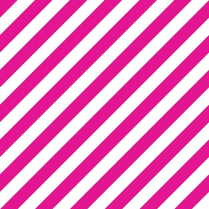 Diagonal Stripes Pink