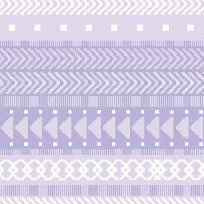 Lavender Tribal Geometric