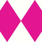 Harlequin Diamond Pink