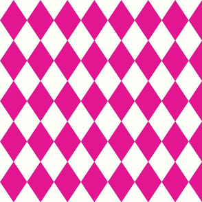 Harlequin Diamond Pink