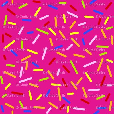 Ice Cream Sprinkles Pink