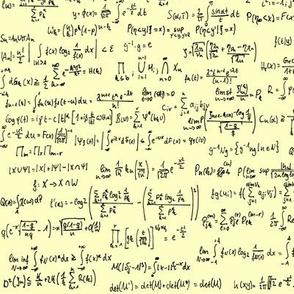 Math Notes on Yellow // Small