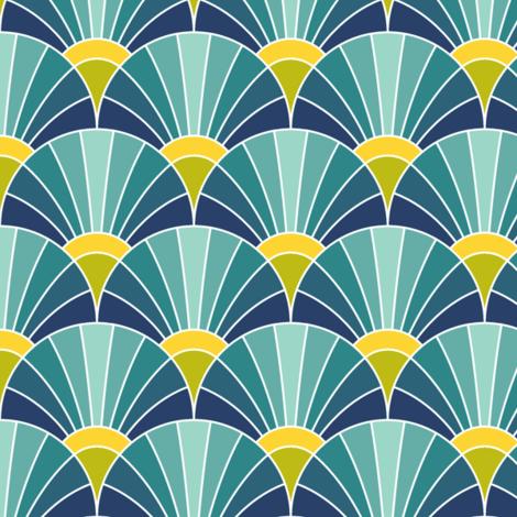 05166780 : fan scale : trendy2 fabric by sef on Spoonflower - custom fabric