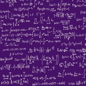 Math Notes on Purple // Small