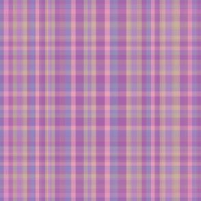 Lilac Plaid