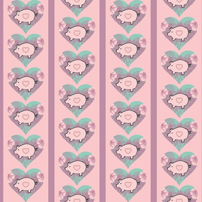 Pigs and Petunias in Pink