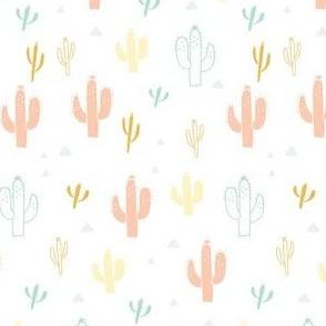 Multi Pastel Cactus