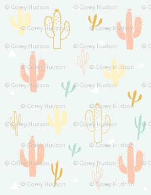 Cactus in Mint