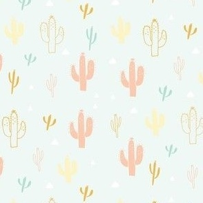 Cactus in Mint