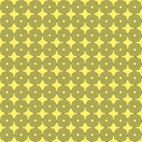 graphic on yellow, large