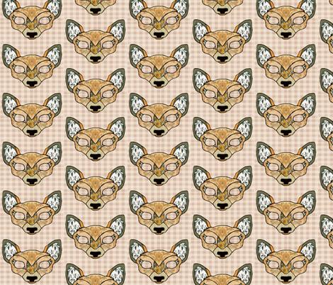 Doe a Deer fabric by novelatelier on Spoonflower - custom fabric