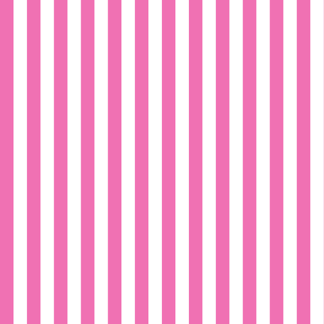 Pink And White Stripes fabric by flamincatdesigns on Spoonflower - custom fabric