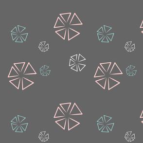 Retro Triangle Design