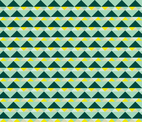 38 Triangles fabric by anniecdesigns on Spoonflower - custom fabric