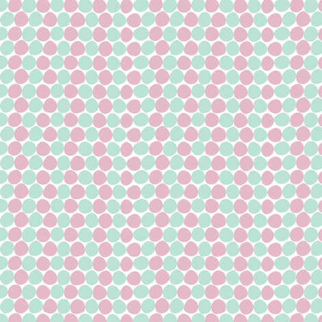 Bay Dots fabric by anniecdesigns on Spoonflower - custom fabric