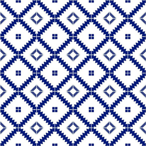 Moroccan tile Blue Encaustic Tile Cement tile