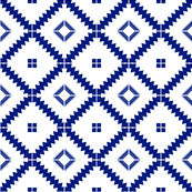 Moroccan tile Blue Encaustic Tile Cement tile
