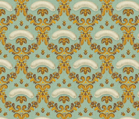 Munich Wurstig  fabric by raoulandsimone on Spoonflower - custom fabric