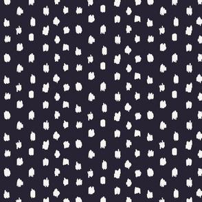 Hand drawn polka dots