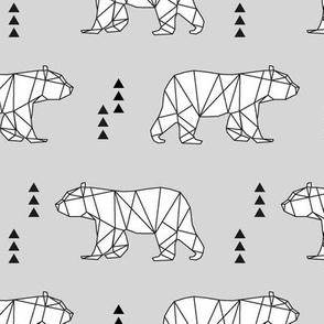 geometric bear // fog