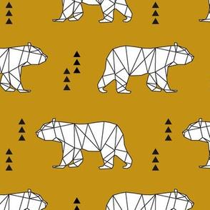 geometric bear // myan