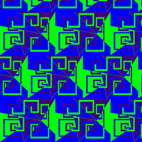 6 - Geometric - Whimsical_Mazes_-_Green_Blue_Purple
