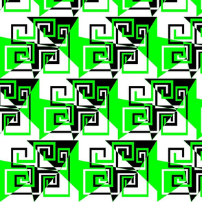 6 - Geometric - Whimsical_Mazes_-_Green
