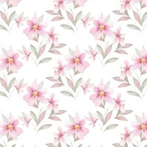 Delicate floral pattern 42