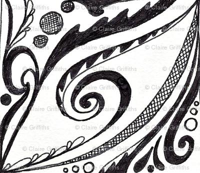 swirly roundel