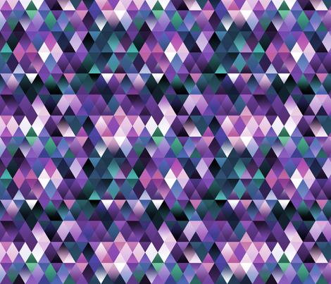 triangles fabric by kociara on Spoonflower - custom fabric
